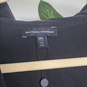 Universal Standard Long Sleeve Button Down Dress